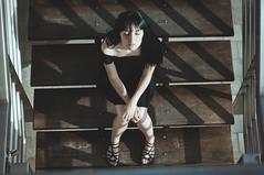 Cenitalia (Mishifuelgato) Tags: alba nikon d90 50mm 18 perspectiva vista cenital camera photography dlsr fotografía portrait retrato perspective mujer woman symmetry simetria photoshoot photooftheday pickoftheday portraiture portraitoftheday sombras shades alicante