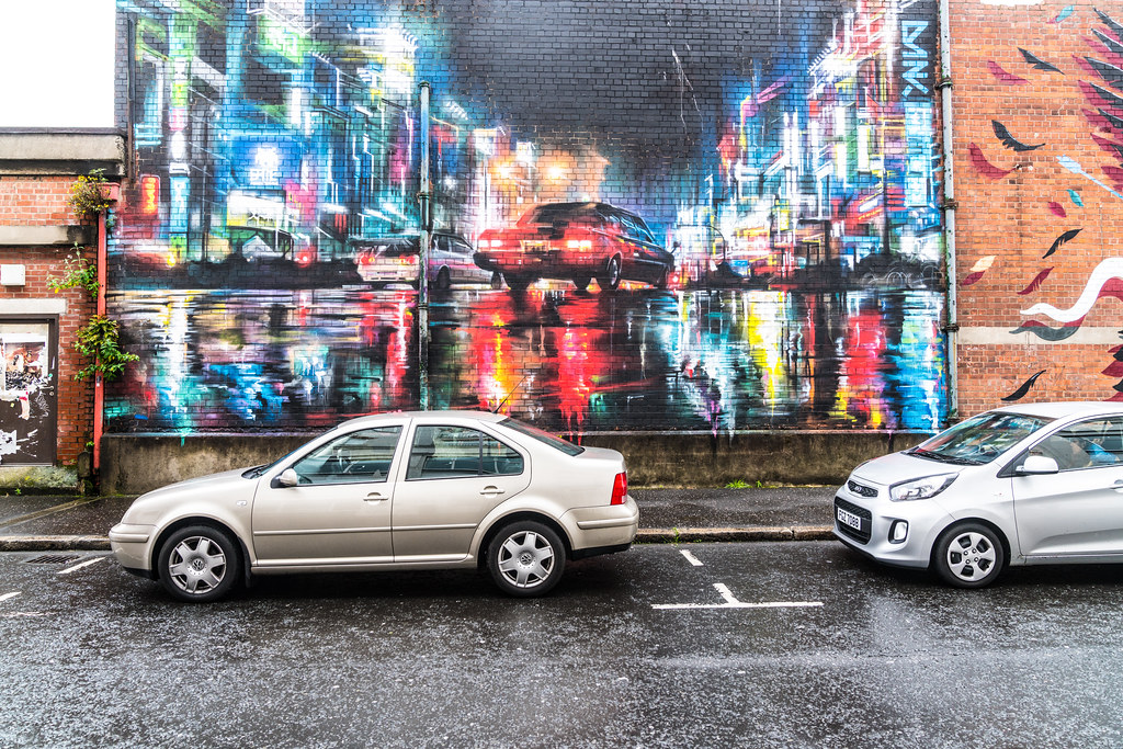 STREET ART AND GRAFFITI IN BELFAST [ANYTHING BUT THE FAMOUS MURALS]-129125