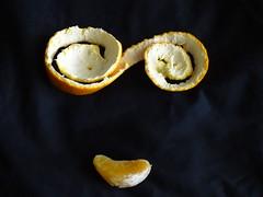 Keep 'Em Peeled (Balticson) Tags: orange peel fruit face orangepeel citrusfruit characterisation