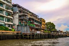 Bangkok Chao Phraya River 3 (21mapple) Tags: chaophrayariver bangkok thailand river water boats boat
