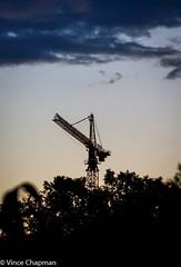 Crane at dusk (mandark_898) Tags: silhoutte dusk landscape outdoor