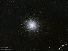 M5 - Globular Cluster in Serpens (Sara Wager (www.swagastro.com)) Tags: astrophotography astro astronomy astrodon astronomia astrology cosmos cosmology deepspace deepskydso constellation globular globularcluster m5 messier stars star skies universe space sara sarawager swagastro wwwswagastrocom interstellar tmb tmb1521200 mesu mesu200 lrgb ngc5904 qsi683 qsi