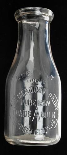 Moorefield WV Milk Bottle ($201.60)