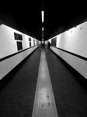 Tunnel (Dedalomouse Photos) Tags: genova italia italy tommaso tommasoolmeda travel europa europe prospettive prespectiva prospettiva street streetphoto tuneles tunnel b bianconero bn bw perspective perspectiva