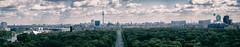 Tourist's View of Berlin (Al Fed) Tags: 20170421 berlin siegessäule view tiergarten kanzleramt chancellors office parliament reichstag bundestag charité brandenburger rotes rathaus potsamer platz sony center strase des 17 juni
