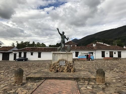 Parque Antonio Ricaurte, Villa de Leyva, Colômbia.