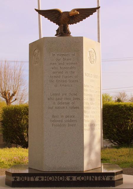 Portland, TN War Memorial