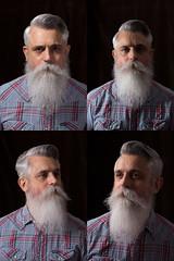 x4 (mjwpix) Tags: x4 portraits sooc rembrandtlighting splitlighting shortlighting broadlighting michaeljohnwhite mjwpix studiolighting reflector beard cosimomatteini canoneos5dmarkiii ef85mmf18usm