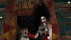 the minute yer born you get a ticket to the freak show (tralala.loordes) Tags: freakshow circus music thedatammas gituaura blueorange clown zombie horror dark tralalaloordes ininaka event