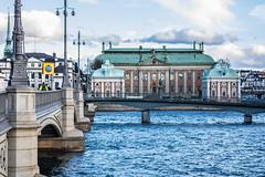 City scenery (Infomastern) Tags: stockholm bridge bro building byggnad
