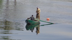Fishermen on the Nile (Rckr88) Tags: fishermen nile fishermenonthenile nileriverupperegypt nileriver upperegypt river upper egypt fish ship ships boats boat fishing africa travel travelling rivers riverbank water waves wave reflection reflections thenileriver nature outdoors