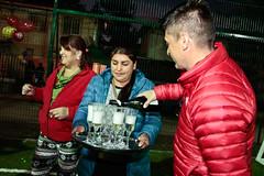 Vecinos de Villa Campanario inauguran su nueva multicancha