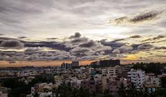 Wake Up! Bangalore. It is a Lovely Morning (Anoop Negi) Tags: sunrise morning twilight bangalore bengaluru karnataka india early anoop negi ezee123 urban june 2017 photo photography oracle view clouds