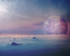 Alien planet 6 (inka19) Tags: sureal landscape composite