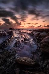 Nightmare (-Mandraque-) Tags: barrica barrika espagne spain landscape paysage seascape mandraque sunset coucherdesoleil sea mer couleurs poselongue longexposure canon 5d 5d2