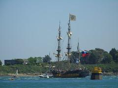 Le Shtandart (Sea Sails n' Sun) Tags: russie voile voilier eau mer cardinale morbihan bretagne shtandart navire