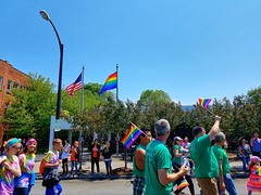 Pride parade in Buffalo, N.Y. Happy Pride Month!!!💗❤💛💚💙💜💑👨❤️👨👩❤️👩 (iamlewolf) Tags: pride parade lgbtq buffalo buffalonewyork newyork buffalony ny june 2017 loveislove love people