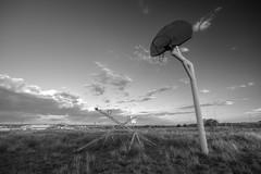 Abandoned on Route 66 (ap0013) Tags: route66 abandoned park abandon abandonment santarosa newmexico nm basketball bw black white blackandwhite