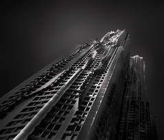 Frank-Gehry-Tower (Richard Terpolilli) Tags: newyorkcity manhattan frankgehry frankgehrytower fineartphotography fineartblackwhitephotography fineartblackandwhite fineart architecture architecturalphotography blackandwhitefineartarchitecture longexposure longexposurephotography bwlongexposurephotography bwlongexposure
