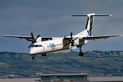 G-JECL (GH@BHD) Tags: gjecl bombardier dehavilland dhc dhc8 dhc8402q dasheight be bee flybe bhd egac belfastcityairport turboprop airliner aircraft aviation specialcolours