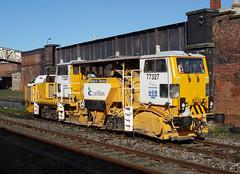 77327 (R~P~M) Tags: train railway ontrackplant ballastregulator carillion shrewsbury salop shropshire england uk unitedkingdom greatbritain