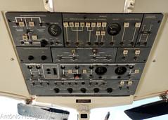 Overhead (Antônio A. Huergo de Carvalho) Tags: embraer emb121 emb121a xingu xingú xinguii ptmbb cockpit panel painel flightdeck overhead