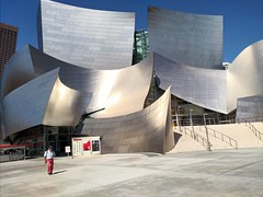 Walt Disney Concert Hall (Thad Zajdowicz) Tags: waltdisneyconcerthall architecture frankgehry modern contemporary cellphont availablelight building shape abstract stainlesssteel shiny street urban city zajdowicz losangeles california usa motorola droid turbo lightroom smartphone cameraphone android mobile outdoors outside sunny