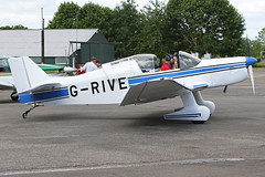 G-RIVE (QSY on-route) Tags: grive lincoln aero club mid summer fly in sturgate 04062017