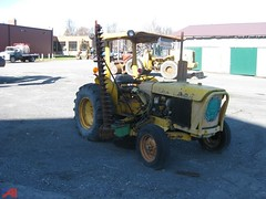 Albany County, NY 1976 John Deere JD302 tractor mower - fleet No. 149_2 (JMK40) Tags: johndeere jd302 tractor mower albany county ny highway department government municipal equipment