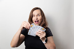 Life is like a game of cards. The hand you are dealt is determinism; the way you play it is free will... (~ cynthiak ~) Tags: 365 365days 3652017 2017 june june2017 selfportrait 166365 img8559 ourdailychallenge odc playinggames cardgame cards twistedfish
