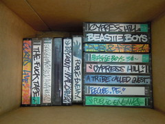 Vintage Sounds (Jihef) Tags: bozar brussels hip hop generations 1980s old school graffiti writers vintage rap k7 tapes
