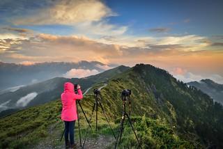 Sunset at Mountain Hehuan