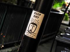 Bristol at Night May-2 (fiskoffury) Tags: bristol city dutchangle graffiti night nikon smalldof sticker stokescroft