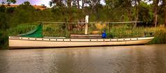 Alexandrina (jatakaphoto) Tags: alexandrina river murray steam launch screw steamer purnong walkers flat ferry crossing bank gum trees fresh water manning hdr traditionalwoodenboats