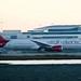 Virgin Atlantic Boeing 787 -9 Dreamliner G-VWHO takeoff roll, runway 1 (1R?), SFO DSC_0251