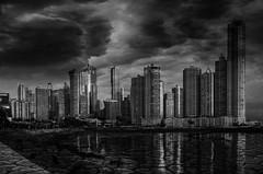 Distorted Reality (Bernai Velarde-Light Seeker) Tags: fineart city urban urbanexploration texture bernai velarde blackandwhite bw centralamerica cracks buildings sea ocean pacific bernaivelarde byn ciudad panama centroamerica digital art