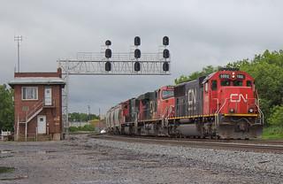 CN 1002 Leading NS 68N-25 Berea, OH