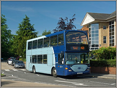 Metrobus 6496, Reigate (Jason 87030) Tags: metrobus reigate 6496 sony alpha a6000 ilce uk england blue bus doubledecker vehicle publictransport may 2017 sunny office roadside nex lens bmwjunk photo flickr tag buses group yn54ajx livery rare pretty exclusive capture explore exist amazing pro amateur snap super great fantastic world bright light art photograph new trip sky travel sweet yummy bestoftheday smile picoftheday life allshots look nice likes lol photostream shot route service 420 sutton destination scania omnidekka