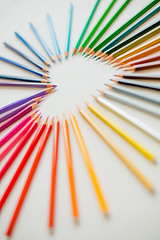22/52 pencils | lápices (ana pardos corrales) Tags: pencils lápices heart corazón love amor color
