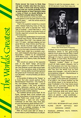 Norwich City vs Luton Town - 1991 - Page 26 (The Sky Strikers) Tags: norwich city luton town barclays league division one carrow road official matchday programme pound twenty