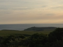 Lighthouse (My photos live here) Tags: eastbourne east sussex england i phone 5s beachy head downland estate chalk lighthouse belle tout sea english channel sunset south downs national park