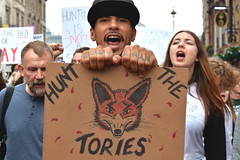 Anti-Fox Hunting Protest London #KeepTheBan (Darren Johnson / iDJ Photography) Tags: support protesting protesters protester rights people passion protest uk demonstration crowd d7100 photo photos image images pic pics photographer photography justice movement message free london england young photojournalism street streets animalrights foxhunting illegal londonstreet keeptheban shouting shout tories animal cruelty fox ban teresa may primeminister 500px flickr showingknuckles