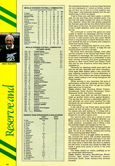 Norwich City vs Luton Town - 1991 - Page 24 (The Sky Strikers) Tags: norwich city luton town barclays league division one carrow road official matchday programme pound twenty