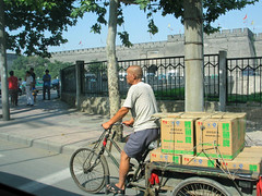 tricycle - Xi'an, China (Russell Scott Images) Tags: streetscenes xian china