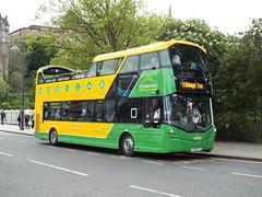 SJ16CTV (47604) Tags: sj16ctv 233 lothian bus edinburgh sightseeing opentop pussy nov20