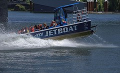 Fear Or Thrill (swong95765) Tags: thrill ride boat passengers river stunt thrilling maneuver splash fear