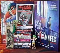 « I can't buy the happiness, but I can offer myself mangas. (It is almost the same) » (Damien Saint-é) Tags: danbo frenchmanga frenchbook yotsuba japan manga toy jouet vinyl kotobukiya revoltech