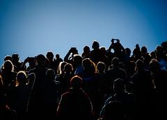 Spectators (miemo) Tags: kaivopuistonlentonäytös2017 airshow audience em5mkii europe finland helsinki kaivopuisto olympus omd panasonic100300mm people silhouette sky summer telephoto helsingfors uusimaa fi