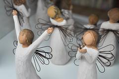 clyde angels (161/365) (werewegian) Tags: angel figure figurine shop window gourock art werewegian jun17 365the2017edition 3652017 day161 10jun17