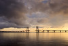 Western High-Speed Diameter under construction (VladimirTro) Tags: bridge clouds sea russia saintpetersburg canon sunset beach water россия санктпетербург outdoor europe 500d cityscape waterscape eos dslr photo photography 24mm вода море мост небо закат облако волна туча свет фото пейзаж
